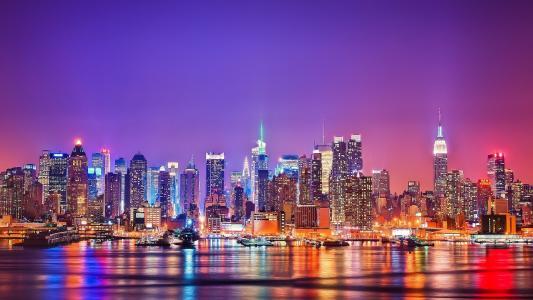 纽约地平线壁纸