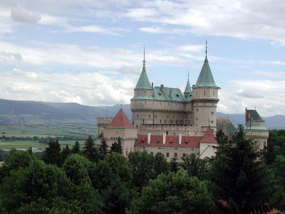 波切尼斯城堡,斯洛伐克壁纸