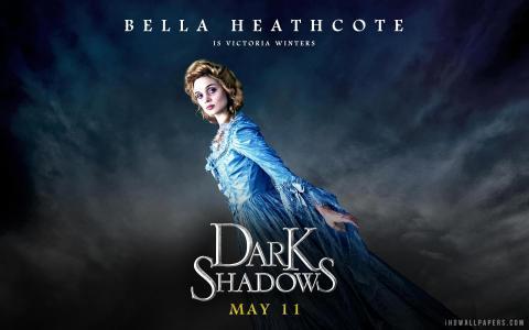 在黑暗的阴影Bella Heathocote壁纸
