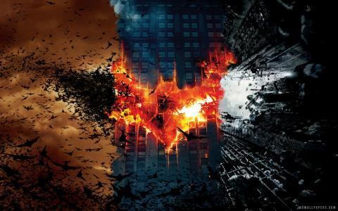蝙蝠侠黑暗骑士电影壁纸