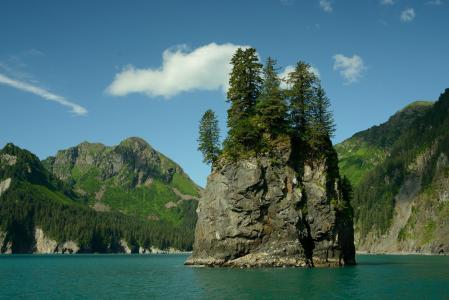 Mountains,湖泊,岩石壁纸