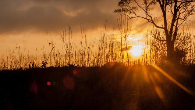 日出日落风景桌面图片