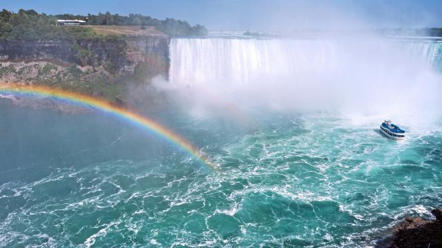 加拿大尼亚加拉大瀑布
