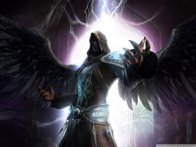 黑暗天使壁纸