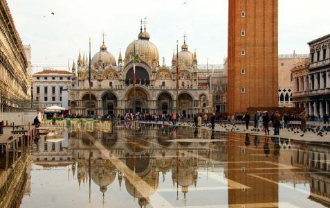 圣马可广场,威尼斯,圣马克大教堂