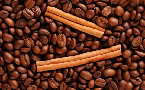 肉桂棒,咖啡豆