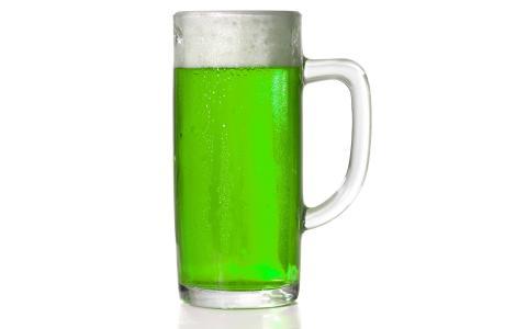 啤酒,绿色,玻璃