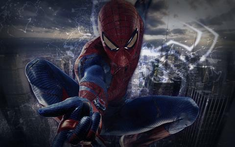 蜘蛛侠,3d,艺术