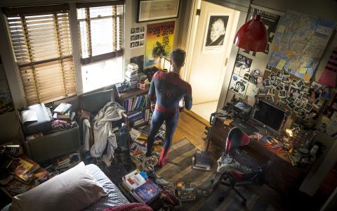 惊人的,蜘蛛侠,2,壁纸