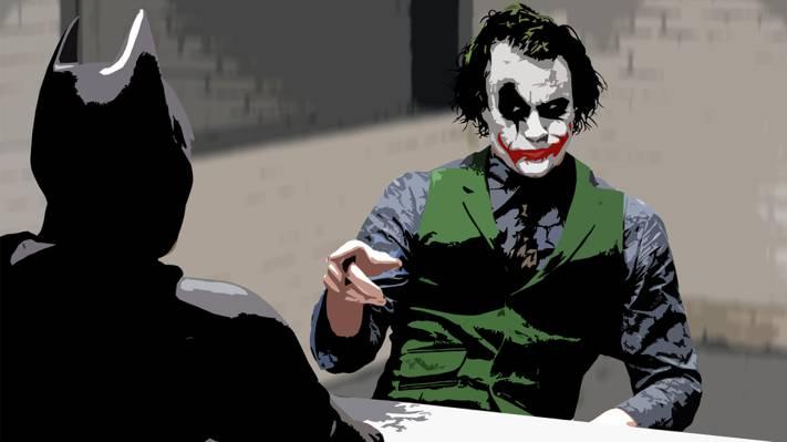 蝙蝠侠,小丑,黑暗骑士,希斯·莱杰,克里斯蒂安·贝尔
