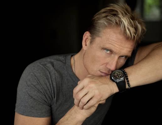 手,看,Dolph Lundgren,Dolph Lundgren,金发女郎,手表,演员,电影,男性,美丽,手镯,...  -