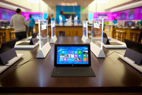 平板电脑,微软,表面亲,办公室,人,窗户8