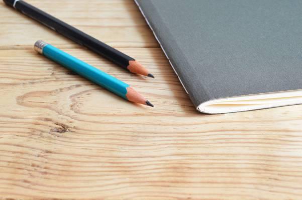 木,桌子,笔记本,办公室高清壁纸