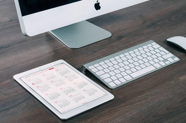 2015年,苹果,显示器,平板电脑,小工具,日历,mac,键盘,日历