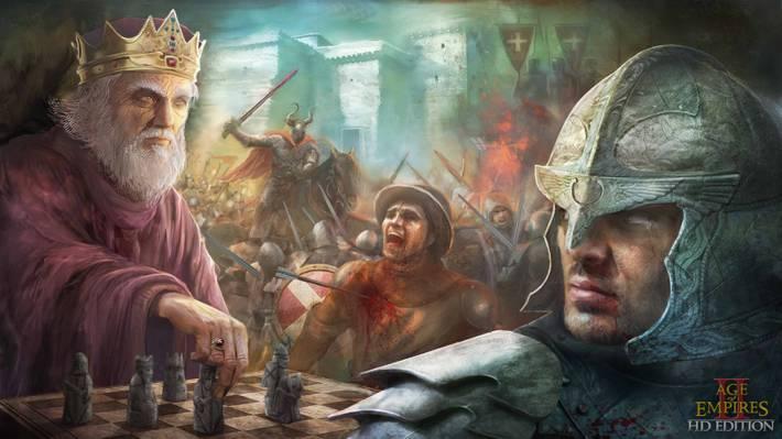 角,游戏,帝国时代,帝国时代II,时代的影响II高清版,...  -