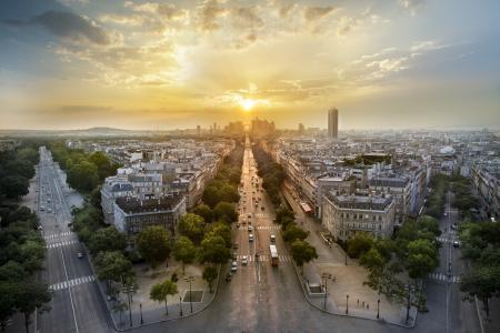 拉德芳斯,巴黎,4K