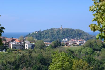 urgull, 圣塞巴斯蒂安, 景观, 风景春天