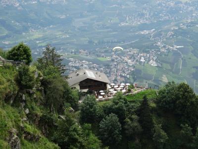 山世界, 山餐厅, 山景