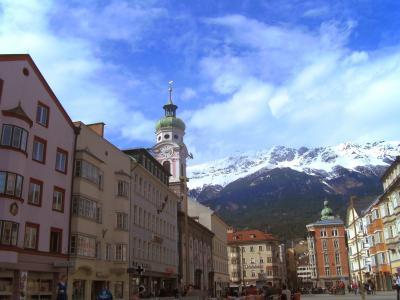 因斯布鲁克, 奥地利, 旅行, 旅游, 蒂罗尔, 阿尔卑斯山, 观光