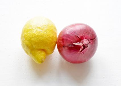 柠檬, 红洋葱, 洋葱, 朋友, 蔬菜, 水果, 食品