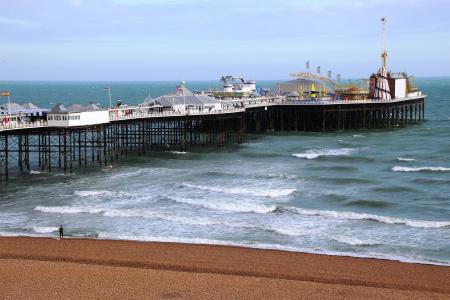 码头, 海边, 海, 水, 旅行, 夏季, 海滩