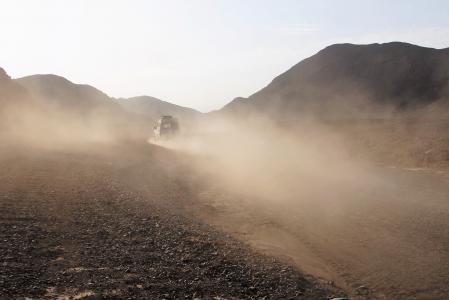 灰尘, 沙漠, 旅行, 地形车辆, 沙漠野生动物园, 越野汽车, 吉普车