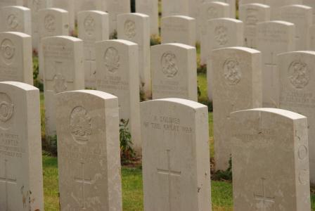 比利时, 泰恩小床, 第一次世界大战, 战争, 公墓, 墓碑, 纪念日