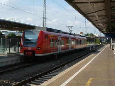 洪堡, 火车站, 火车, 平台, 跟踪, 德国, 通勤
