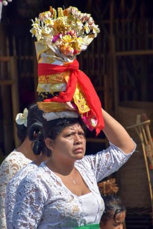 巴厘岛, 印度尼西亚, 旅行, 人类, balinesen, 街道仪式, 仪式