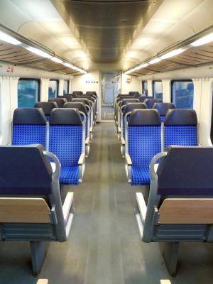 坐, 座位, 火车, 旅行, 排座位, 德国联邦铁路公司, 乘客