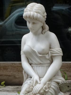 雕像, 女人, 艺术
