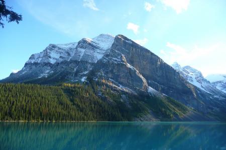 旅行, 山景, 湖, 自然, 山, 景观, 风景