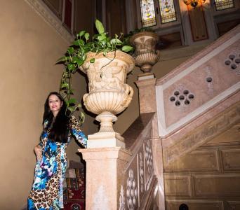 人, 人, 女人, 女性, 古董, 时尚, 楼梯
