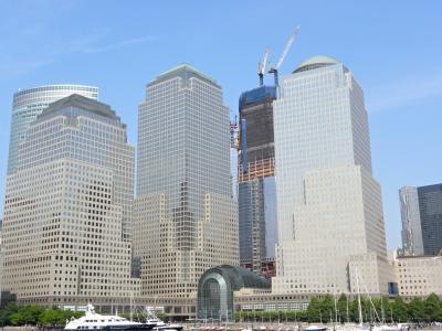 一个世界贸易中心, 纽约, 曼哈顿, 摩天大楼, 建筑, 城市, 城市景观