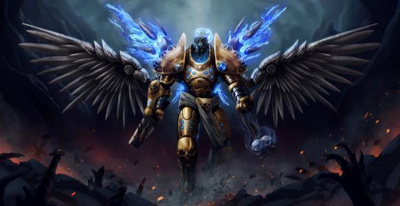 天使战士全高清壁纸和背景图像
